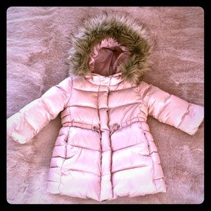 Super Warm Baby Girl Down Fill Jacket